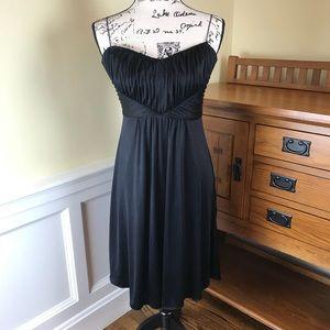 Elie Tahari Black Silk Evening Dress